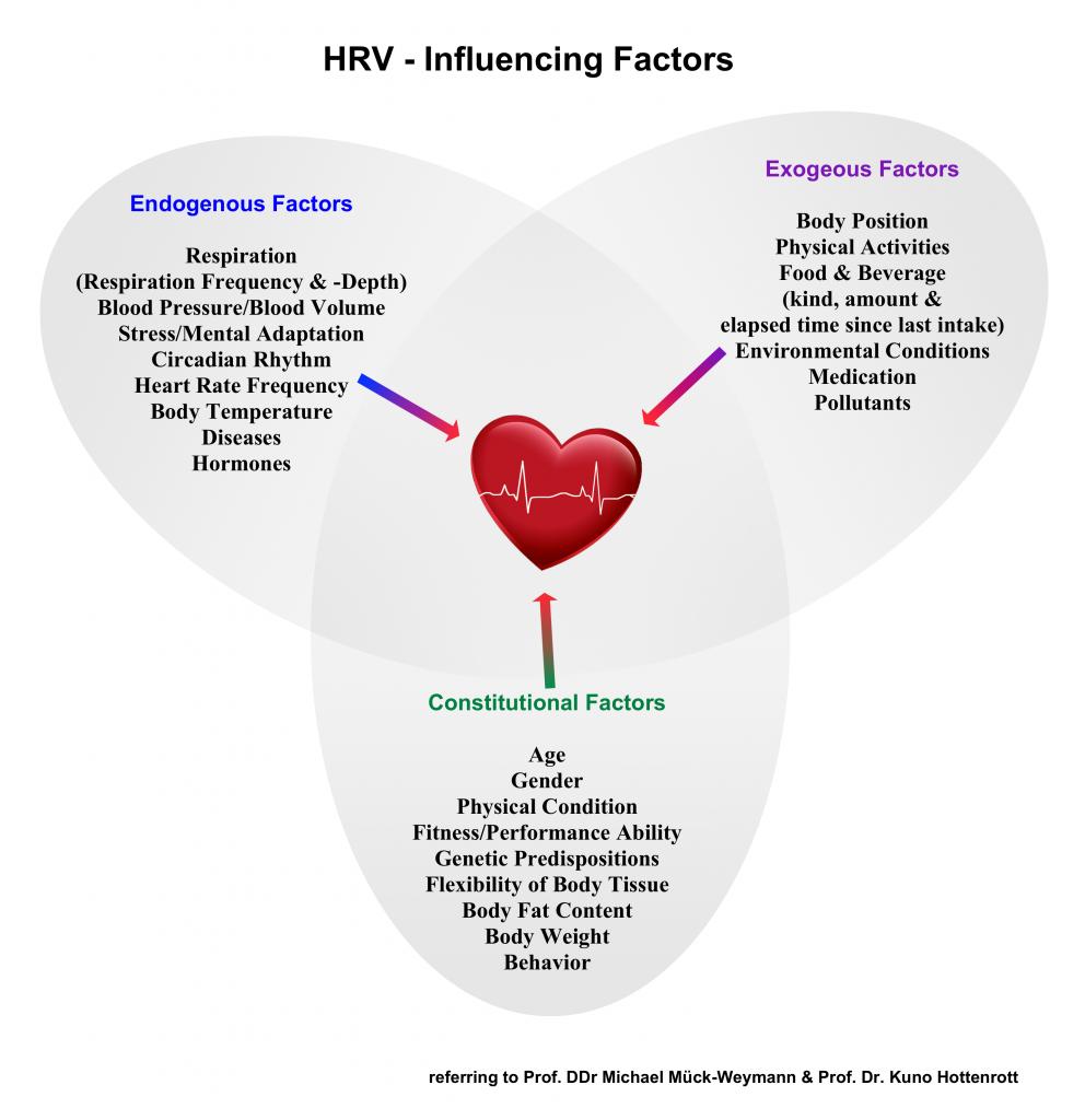 HRV influencing factors
